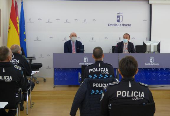 Un total de 19 jefes de Policía Local de Castilla-La Mancha abordan el problema de la ocupación ilegal desde los aspectos operativos y sociales
