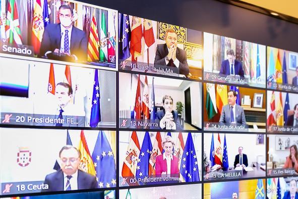 XXIII Conferencia de Presidentes celebrada por videoconferencia