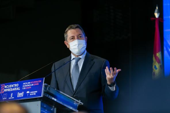 """Clausura el encuentro empresarial """"Hacia una recuperación económica en España y en Europa (Villalba de la Sierra) (Cuenca)"""