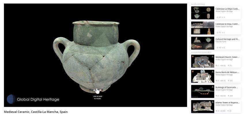El patrimonio cultural de Castilla-La Mancha en 3D sigue destacando a nivel mundial