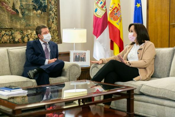 Reunión con la alcaldesa de Alcázar de San Juan