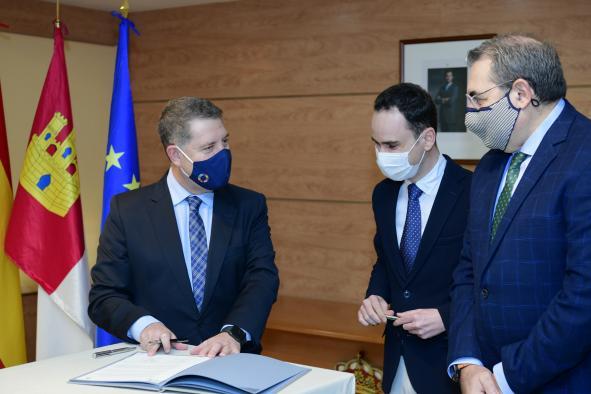 Firma el protocolo de construcción del nuevo Centro de Salud de Cabanillas del Campo (Sanidad)