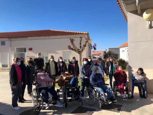 """Actividades del Día de la Discapacidad en el CADIG """"La Piedra Encantada"""" de Abengibre"""