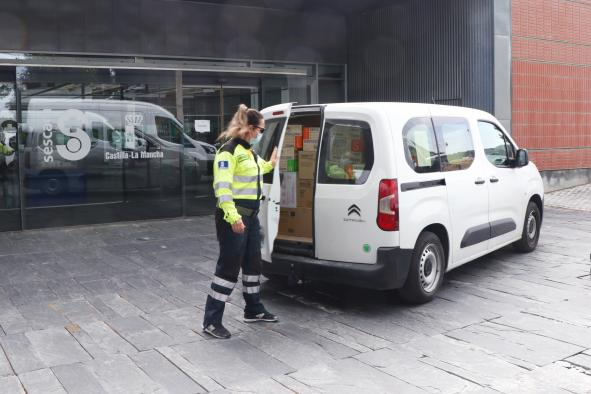 El Gobierno de Castilla-La Mancha ha superado los 36 millones de artículos de protección enviados a los centros sanitarios desde el inicio de la pandemia