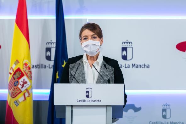Rueda de prensa Consejo de Gobierno Aurelia Sánchez