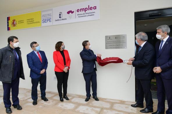 Inauguración de la nueva Oficina ´Emplea´ en Illescas (Toledo)