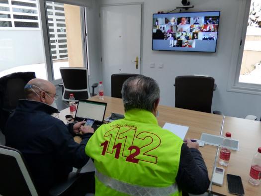 Reunión de coordinación ante la emergencia climática (I)