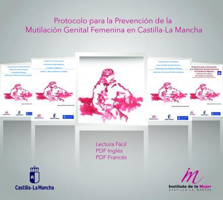 El protocolo para la prevención de la mutilación genital, accesible en la web del Instituto de la Mujer de Castilla-La Mancha en distintos idiomas