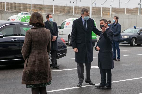 Inauguración de las nuevas instalaciones de 'SEUR' en Illescas