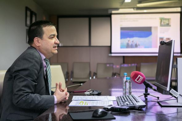 Francisco Martínez Arroyo interviene en la Asamblea General Ordinaria de la Red Castellano-Manchega de Desarrollo Rural (RECAMDER)