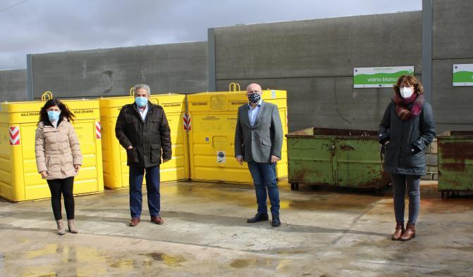 Visita al Centro de Recogida de Residuos en El Bonillo