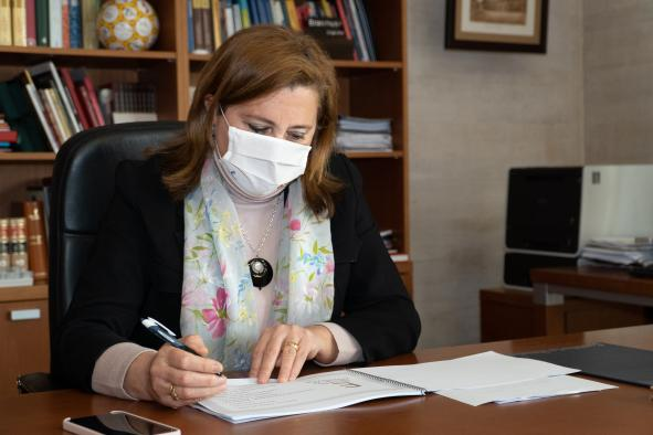 Artículo de la consejera de Educación, Cultura y Deportes, Rosa Ana Rodríguez, con motivo del Día Escolar de la No Violencia y la Paz, 30 de enero
