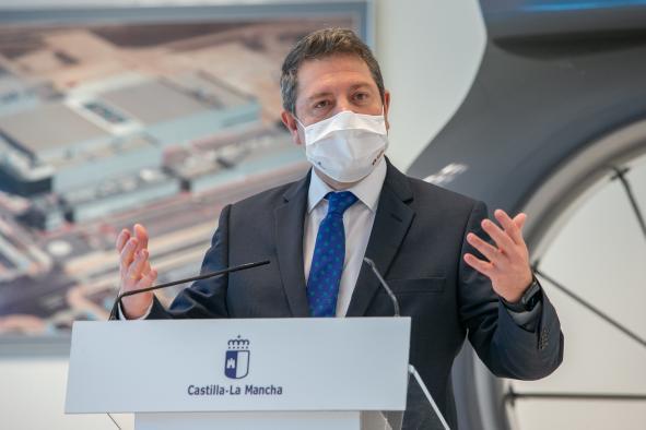 Firma de protocolos de actuación del PSI del 'Parque Aeronáutico y Logístico de Albacete'