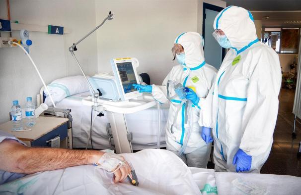 Continúan descendiendo los hospitalizados por COVID-19 en Castilla-La Mancha
