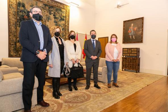 Reunión con representantes de ASEM-CLM