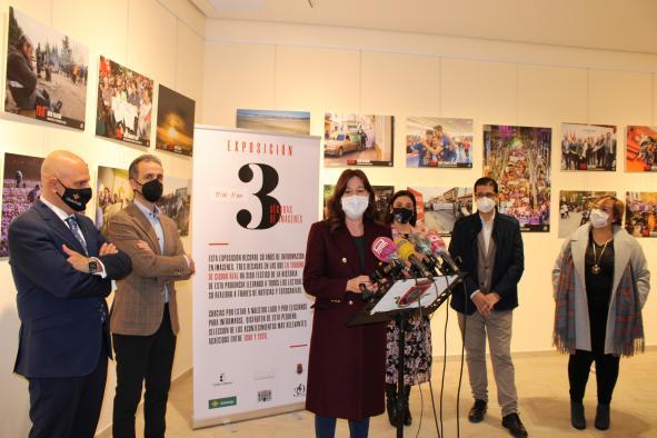 La consejera de Igualdad y portavoz asiste a la exposición fotográfica '3 décadas de imágenes' organizada por el diario La Tribuna de Ciudad Real por su 30 aniversario