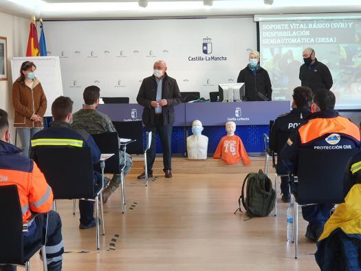 Un total de 67 alumnos y alumnas participarán este fin de semana en cuatro cursos de formación en emergencias en la Escuela de Protección Ciudadana