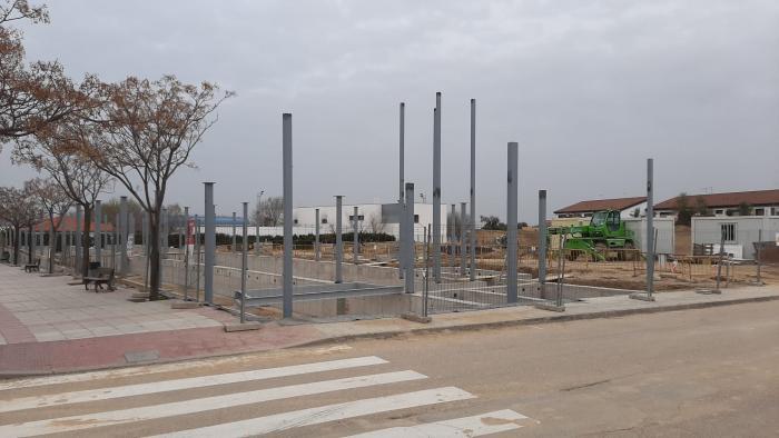 El Gobierno de Castilla-La Mancha saca a licitación las obras la segunda fase del nuevo IESO 'Olías de Rey', con un presupuesto de más de 1.800.000 euros