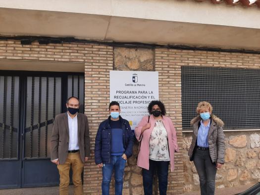 Visitas obras RECUAL en Madrigueras