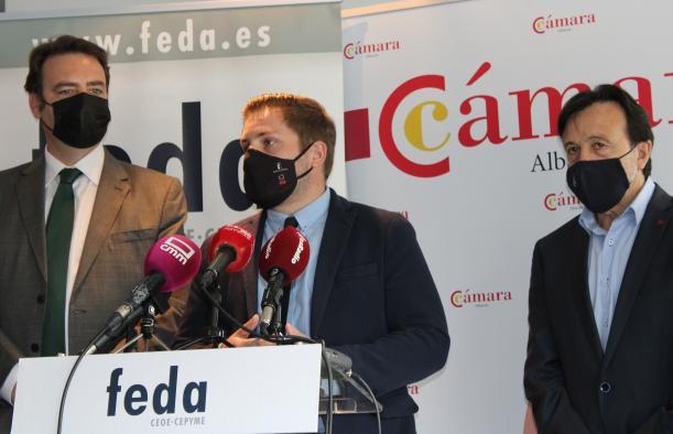 El Gobierno regional considera imprescindible la implicación de FEDA y la Cámara de Comercio de Albacete en el proyecto ALMA