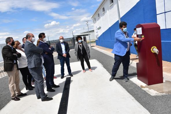 El vicepresidente regional inaugura, a las 12:30 horas, el área de auto caravanas de Luciana