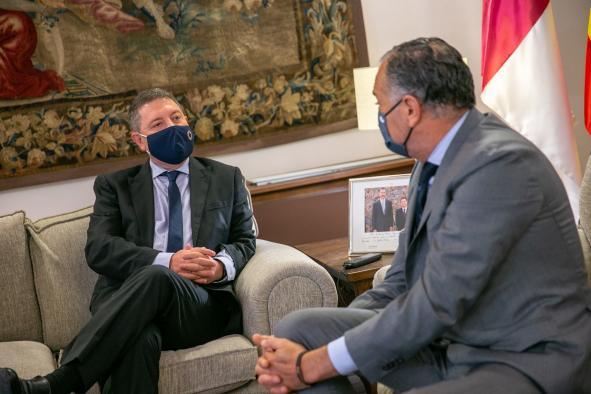 Reunión con el alcalde de Tarancón