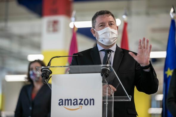 Visita el nuevo centro logístico de la compañía Amazon en la localidad toledana de Illescas