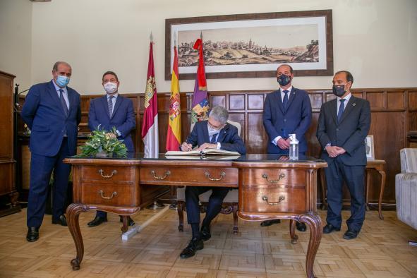 Firma para la reubicación de la base operativa del Grupo Especial de Operaciones (GEO)