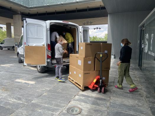 El Gobierno de Castilla-La Mancha ha superado los 47 millones de artículos de protección enviados a los centros sanitarios desde el inicio de la pandemia