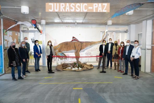 El Gobierno regional destaca que la intensa actividad artística y cultural que realiza el CEIP 'La Paz' de Cuenca es un ejemplo a seguir