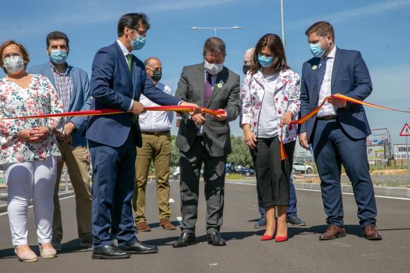 Firma de convenio en materia de infraestructuras viarias e inauguración de la Ronda Norte de Ciudad Real
