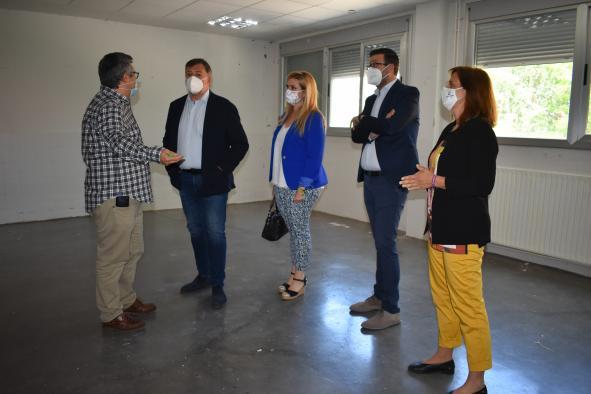 El Gobierno regional comenzará la remodelación de la futura sede que albergará los estudios superiores de arte dramático en Cuenca a lo largo del verano