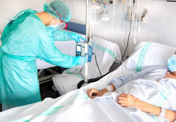 Castilla-La Mancha presenta el menor dato de hospitalizados en cama convencional por COVID-19 en dos meses