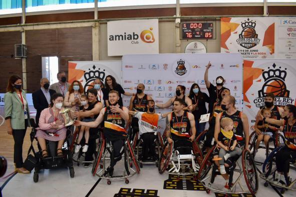 El Gobierno regional subraya lo importante de apostar por el deporte inclusivo y felicita al Amiab Albacete, campeón de la Copa del Rey