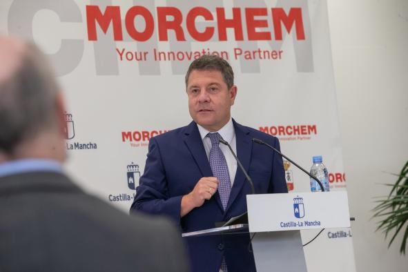 Visita presidente CLM a Morchem
