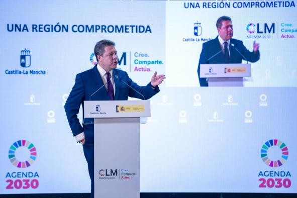 """Acto de presentación de la """"Estrategia Agenda 2030"""""""