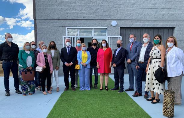 La viceconsejera de Cultura y Deportes, Ana Muñoz, asiste a la inauguración del Centro Tecnológico de Creación e Innovación Artística de Castilla-La Mancha (Residearte)