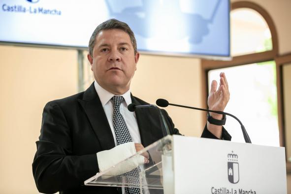 """El presidente de Castilla-La Mancha anuncia que las obras del nuevo hospital """"Santa Bárbara"""" de Puertollano se licitarán el mes que viene"""