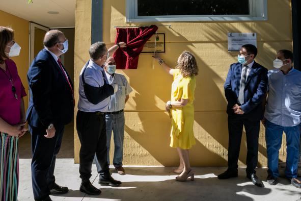 Inauguración del gimnasio del Colegio Rural Agrupado Airén