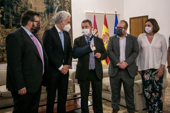 """Reunión con representantes de la empresa """"Linde Gas"""""""