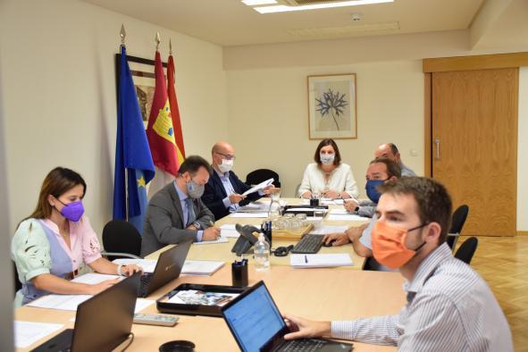 La consejera de Economía, Empresas y Empleo, Patricia Franco, preside, a las 12:00 horas, la reunión del Consejo de Administración del Instituto de Finanzas de Castilla-La Mancha, en la sede del Instituto en Toledo.