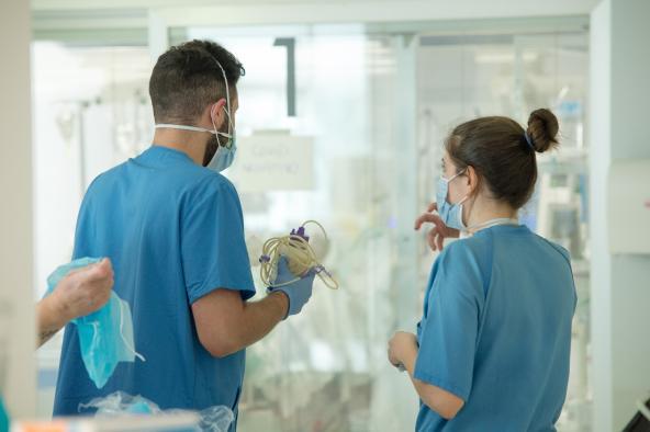 Se estabiliza el número de hospitalizados por Covid-19 en Castilla-La Mancha
