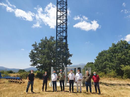 El Gobierno regional ha invertido más de 10 millones de euros en el despliegue de 108 antenas 4G en la provincia de Guadalajara