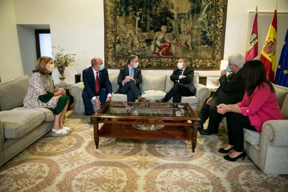 Reunión con el nuevo presidente de FECAM
