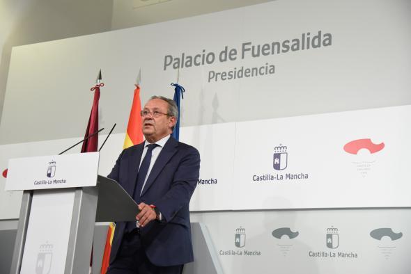 Rueda de prensa del Consejo de Gobierno 7 septiembre (Hacienda) II