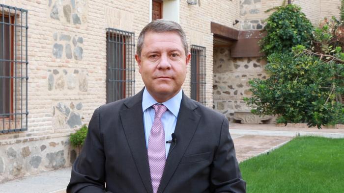 García-Page anima a la comunidad educativa a seguir trabajando con prudencia y compromiso en el nuevo curso escolar que empieza hoy