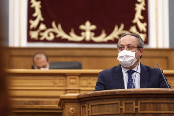 Pleno de las cortes de Castilla-La Mancha 9 de septiembre de 2021