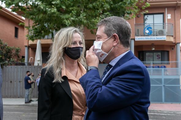"""El presidente de Castilla-La Mancha subraya que """"se echará el candado"""" al Hospital Virgen de la Salud antes de las Navidades"""