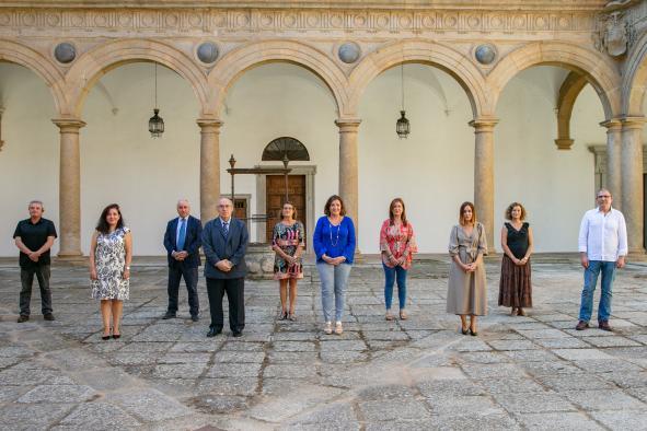 La consejera de Economía, Empresas y Empleo, Patricia Franco, ha presentado la 40 edición de la Feria de Artesanía de Castilla-La Mancha, FARCAMA, en el Hospital de Tavera de Toledo.