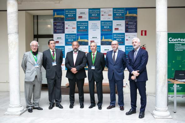 Inauguración del Congreso Internacional de la AECA